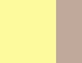 Soft yellow/beige